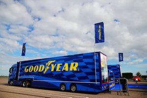 Il camion della GoodYear