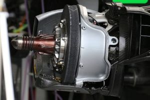 Haas VF-20 brake disc detail