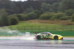 #97 ASTON MARTIN RACING - Aston Martin Vantage AMR: Alexander Lynn, Maxime Martin
