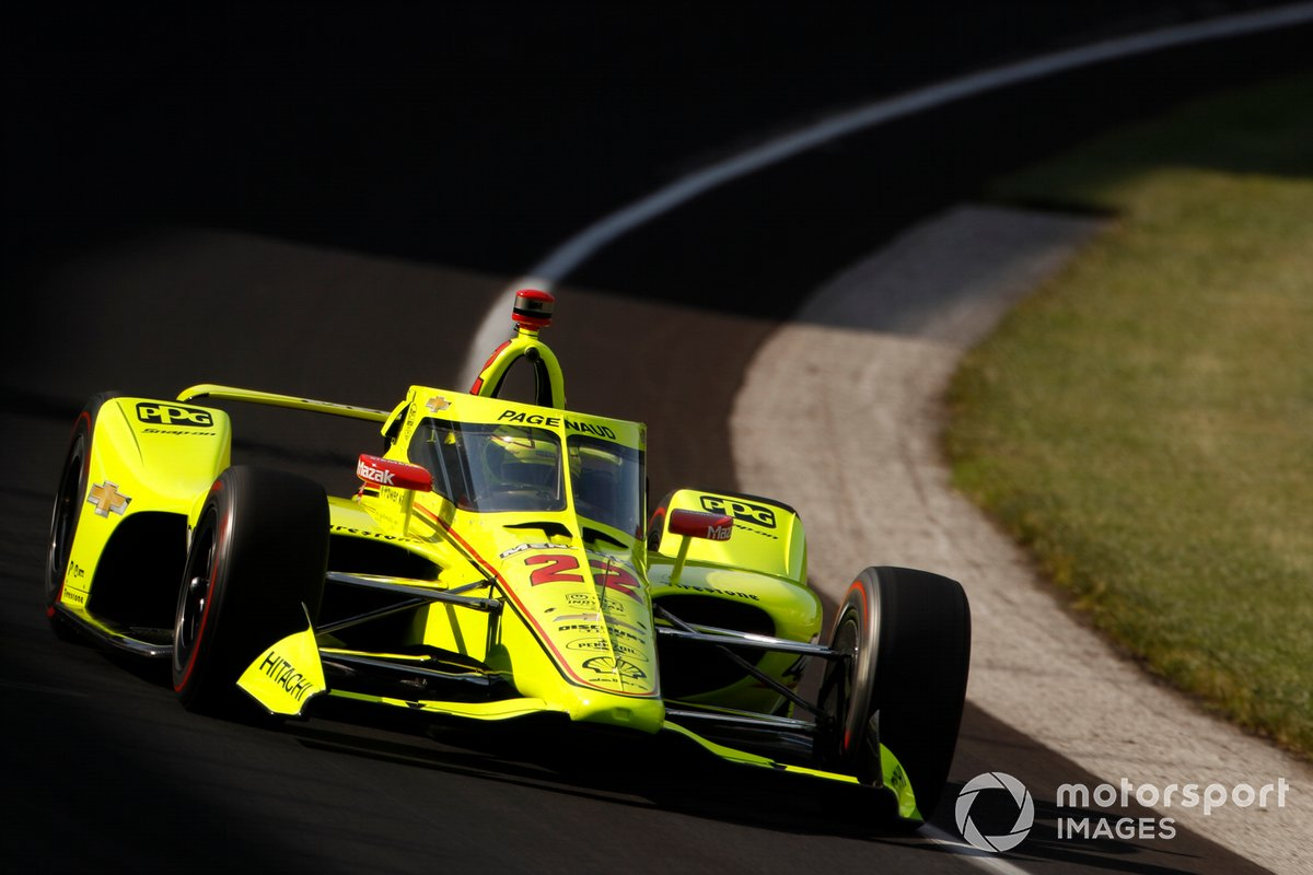 25º Simon Pagenaud, Team Penske –Chevrolet