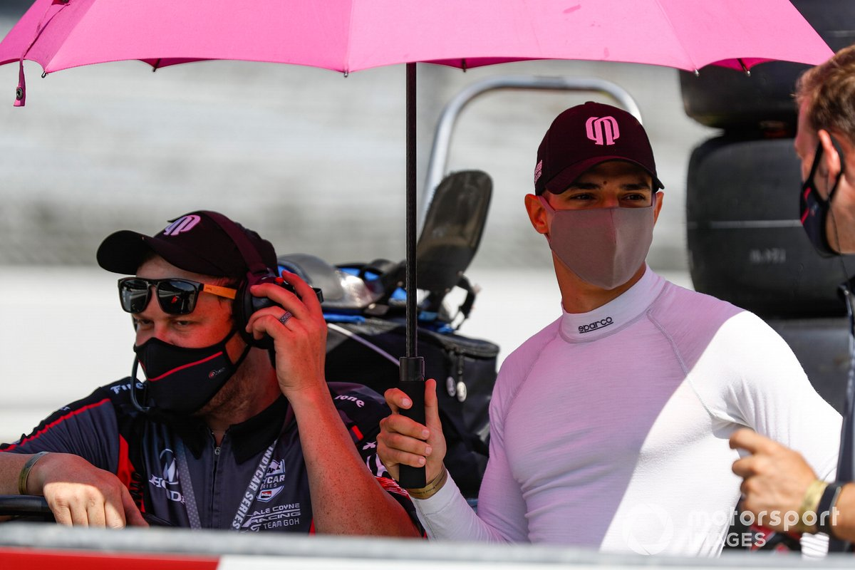 Alex Palou, Dale Coyne Racing with Team Goh Honda