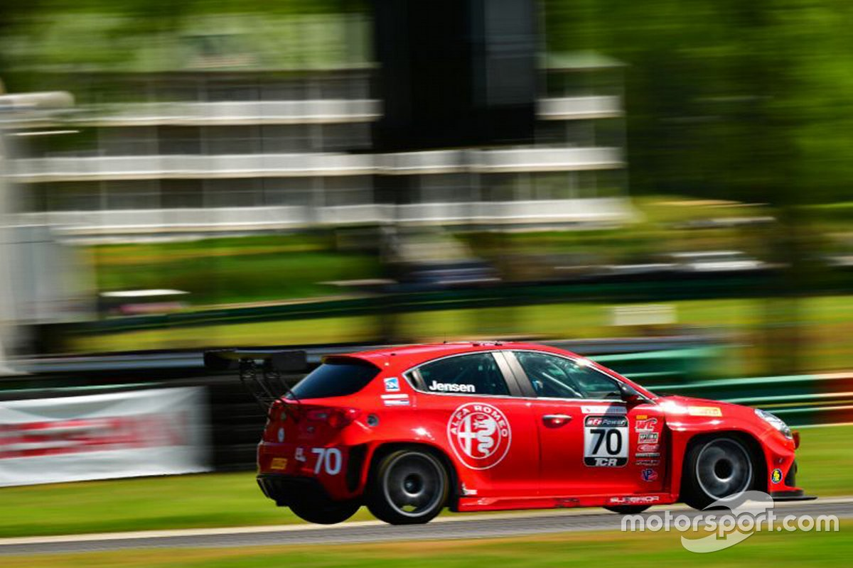 Martin Jensen, Insight Racing-Alfa TCR USA, Alfa Romeo Giulietta TCR