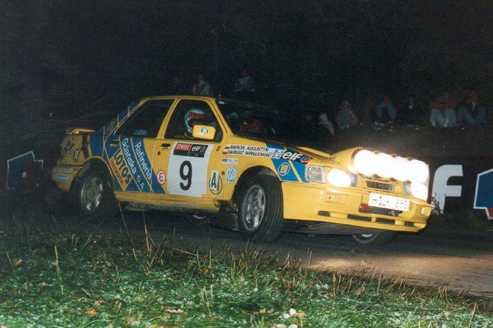 Dariusz Wirkijowski, Marcin Augustyn, Ford Sierra RS Cosworth 4x4