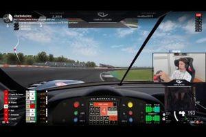 Screenshot della live su Twitch di Leclerc e Rossi
