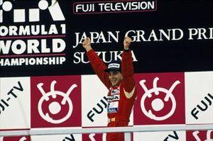 1. und Weltmeister Ayrton Senna, McLaren