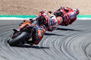 Andrea Dovizioso, Ducati Team, Marc Marquez, Repsol Honda Team, Pol Espargaro, Red Bull KTM Factory Racing