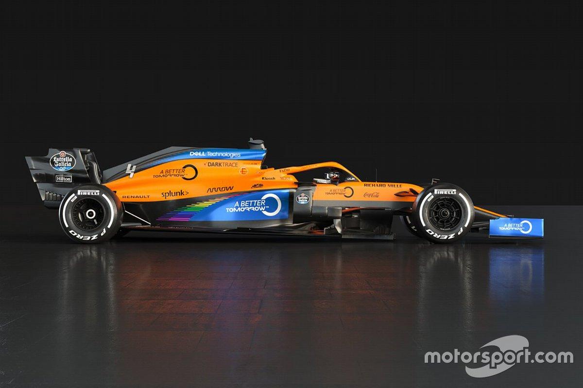 McLaren, decoración 2020