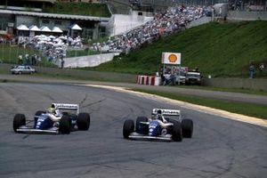 Ayrton Senna, Williams FW16, Damon Hill, Williams