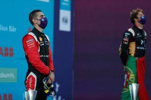 Sébastien Buemi, Nissan e.Dams festeggia sul podio