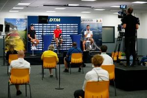 Press Conference, Ferdinand Habsburg, Audi Sport Team WRT, René Rast, Audi Sport Team Rosberg, Marco Wittmann, BMW Team RMG