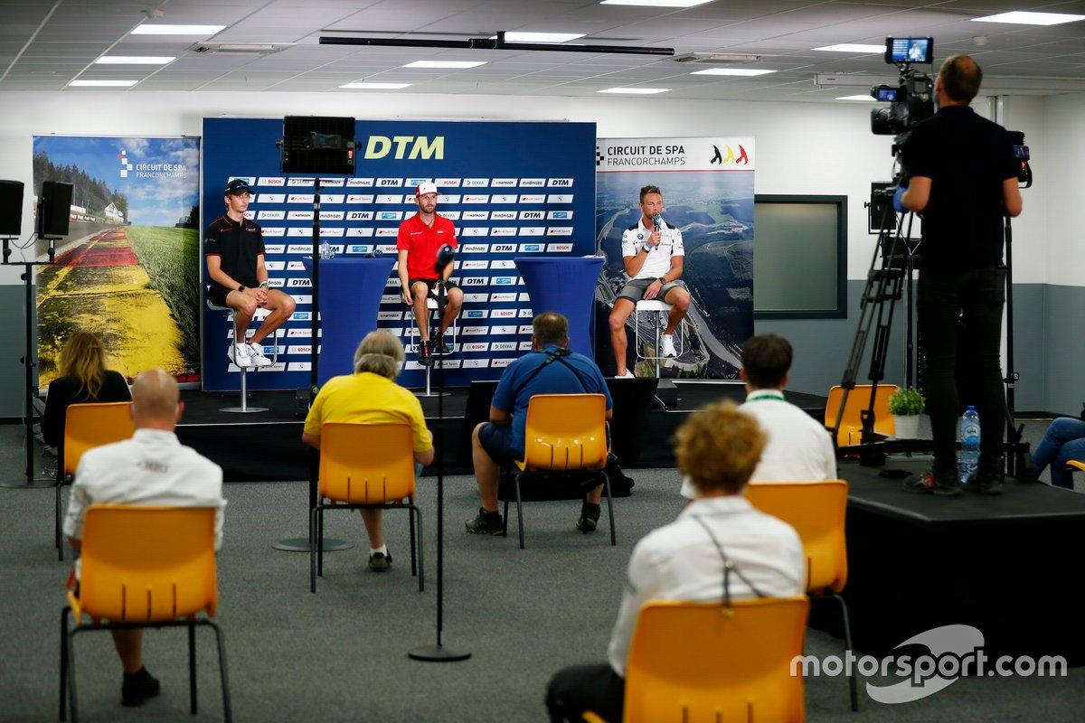 Conferenza stampa, Ferdinand Habsburg, Audi Sport Team WRT, René Rast, Audi Sport Team Rosberg, Marco Wittmann, BMW Team RMG