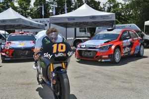 Umberto Scandola, en la moto de Luca Marini, Sky Racing Team VR46