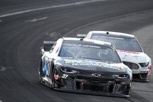 Ryan Preece, JTG Daugherty Racing, Chevrolet Camaro P&G, Cole Custer, Stewart-Haas Racing, Ford Mustang HaasTooling.com