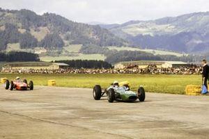 Bob Anderson, Brabham BT11 Climax, Tony Maggs, BRM P57
