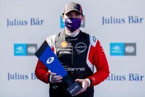Pole sitter Oliver Rowland, Nissan e.Dams