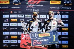 #90 Madpanda Motorsport Mercedes-AMG GT3: Axcil Jefferies, Ezequiel Perez Companc