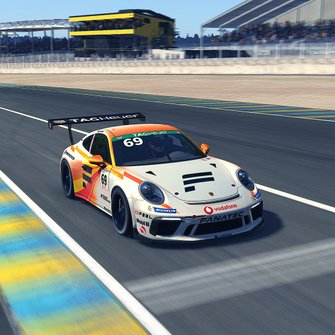 Livery Max Verstappen Porsche TAG Heuer Esports Supercup