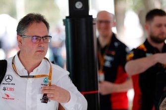 Ron Meadows, directeur sportif Mercedes AMG
