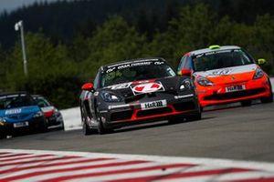 #474 Porsche 718 Cayman S: Wolfgang Weber, Alex Fielenbach, Mike Beckhusen, Jules Gounon