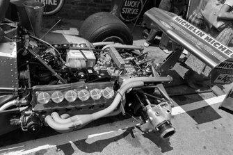 Ferrari 312T4 in the pits