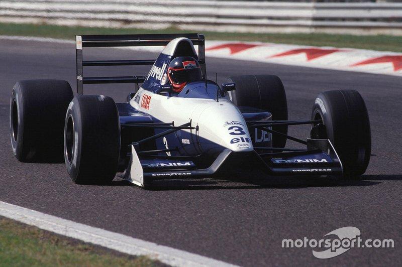 Olivier Grouillard, Tyrrell 020B Ilmor