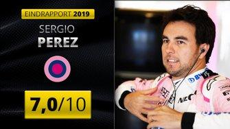 Eindrapport 2019 van Sergio Perez, Racing Point