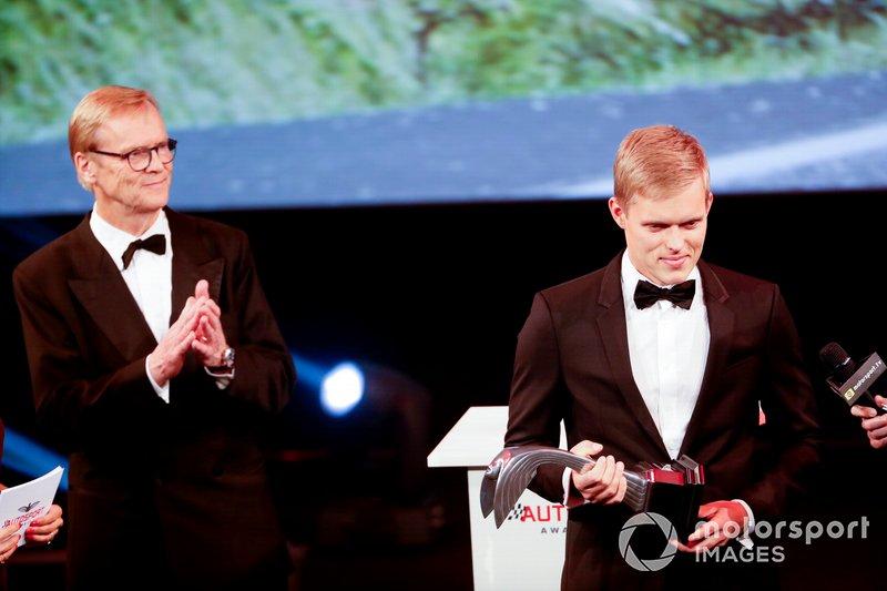 Ott Tanak gana el premio al mejor piloto de rally del año