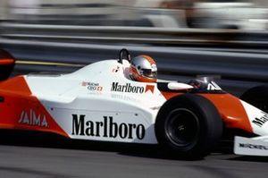 John Watson, McLaren MP4-1C, al GP di Detroit del 1983