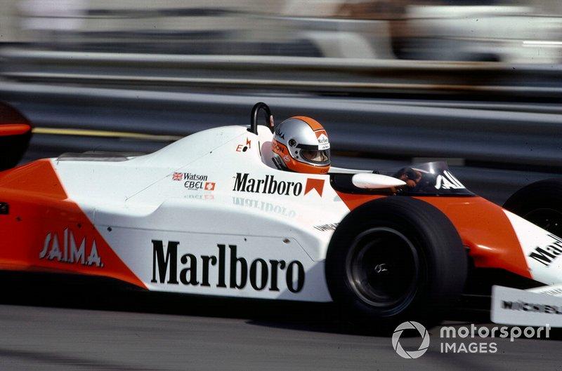 John Watson, McLaren MP4/1C