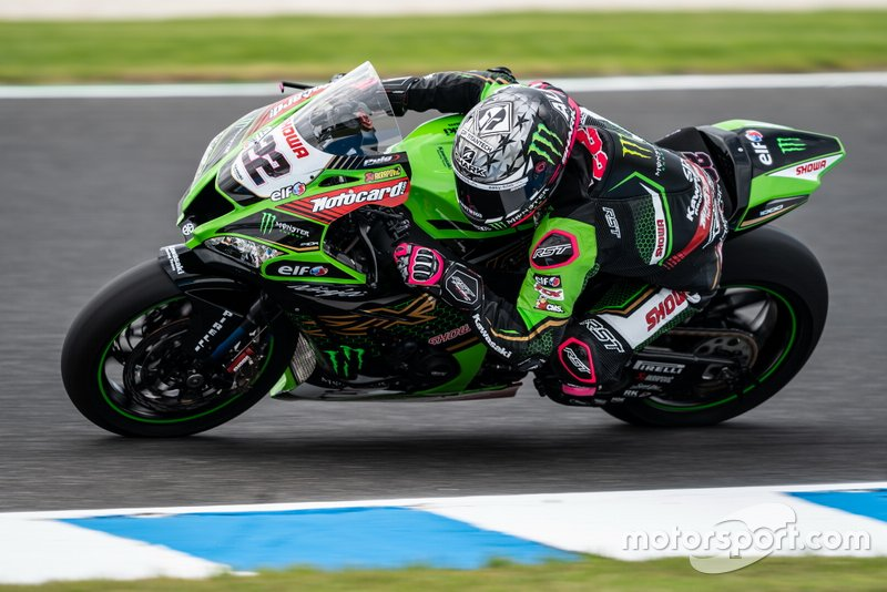 #22 Alex Lowes, Kawasaki Racing Team