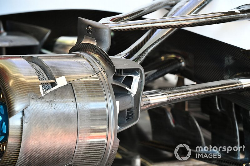 Brake duct detail Alfa Romeo Racing C39