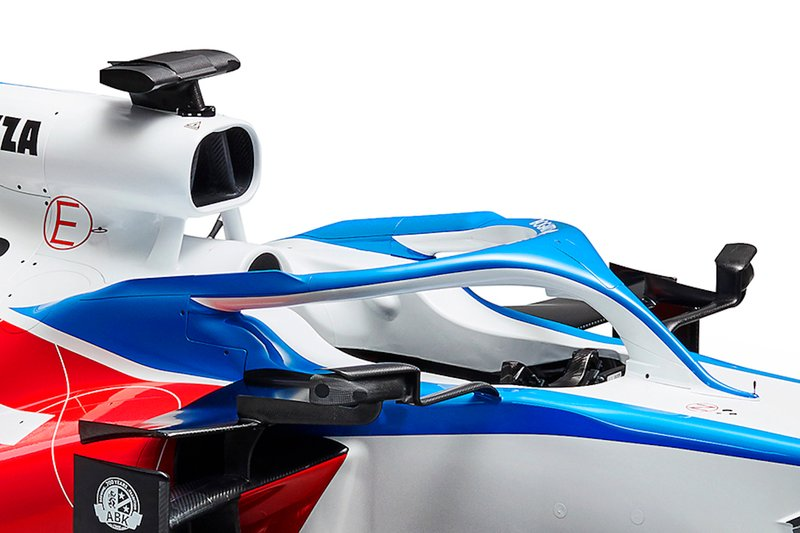 Detalle del Williams FW43