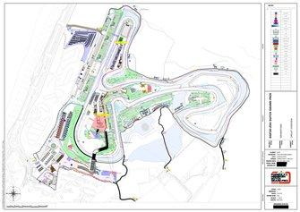 Plattegrond Circuit Zandvoort, Dutch Grand Prix Formule 1