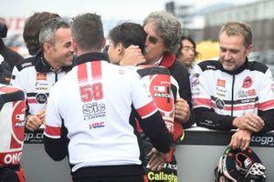 Terzo classificato Tatsuki Suzuki, SIC58 Squadra Corse