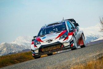 Takamoto Katsuta, Dan Barritt, Toyota Gazoo Racing WRT Toyota Yaris WRC