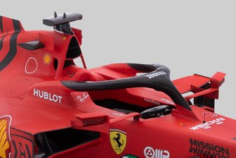 Ferrari SF1000 cockpit detail