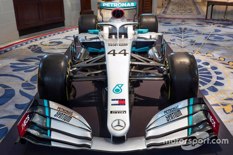 Mercedes AMG F1 W10 met livery 2020
