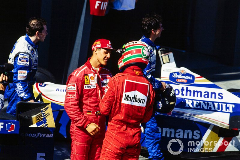 Michael Schumacher, Ferrari, Eddie Irvine, Ferrari