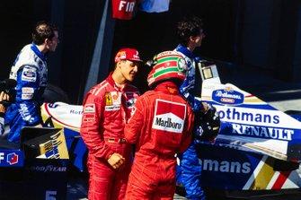 Михаэль Шумахер и Эдди Ирвайн, Ferrari