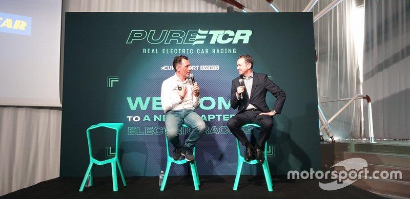 François Ribeiro, Capo di Eurosport Events, e Mike Rytokoski, Vice Presidente e responsabile marketing di Goodyear Consumer Europe