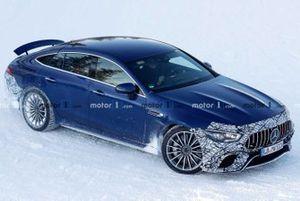 Mercedes-AMG GT73 Hybrid spy photo