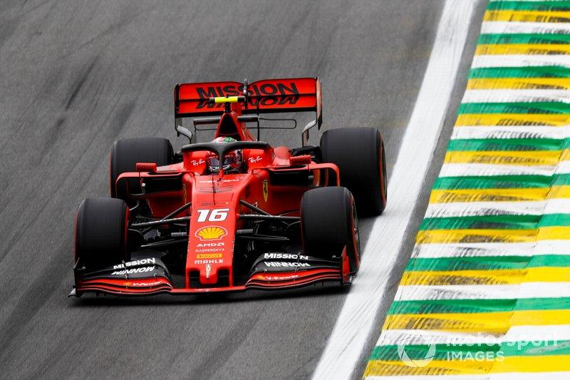 14º - Charles Leclerc, Ferrari SF90 (Punido)