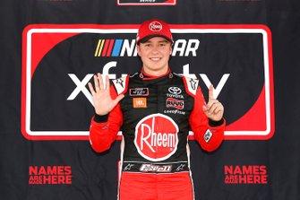 Ganador de la pole Christopher Bell, Joe Gibbs Racing, Toyota Supra Rheem