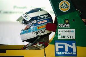 Mika Häkkinen, Lotus 102D