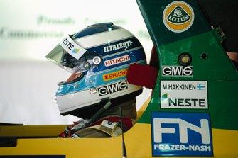 Mika Hakkinen, Lotus 102D Ford