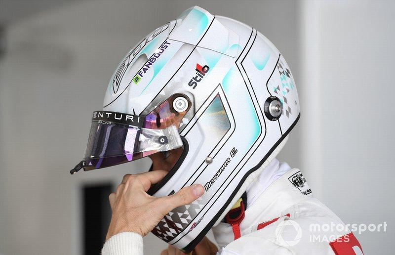 Edoardo Mortara, Venturi, in garage