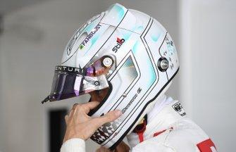 Edoardo Mortara, Venturi, in the garage