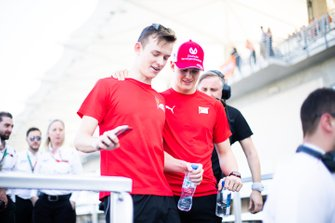 Mick Schumacher, Prema Racing e Callum Ilott, Sauber Junior Team by Charouz