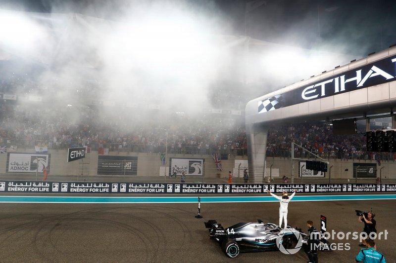 21 GP de Abu Dhabi, Lewis Hamilton, Mercedes AMG F1