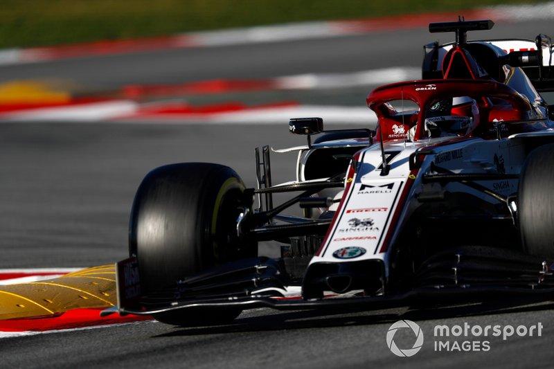 17º Kimi Raikkonen, Alfa Romeo Racing C39: 1:17.415 (con neumáticos C5)